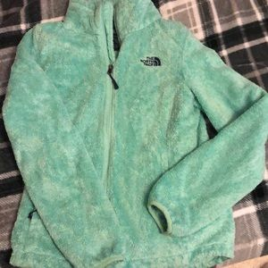 North Face mint Green jacket